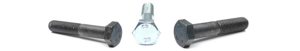 DIN 960 Болт с неполной резьбой и мелким шагом